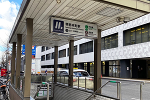 Juso Station 4min on foot